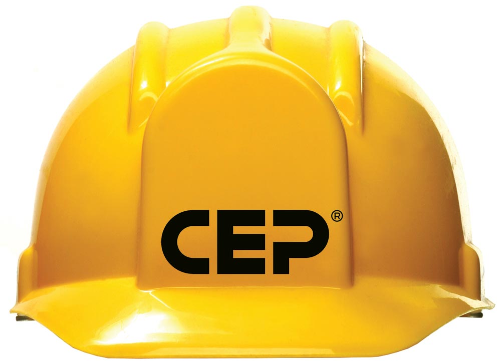 CEP yellow construction hat